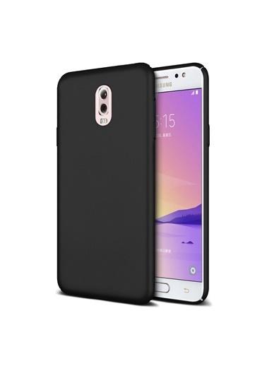 Microsonic Samsung Galaxy C8 Kılıf Premium Slim Siyah Siyah